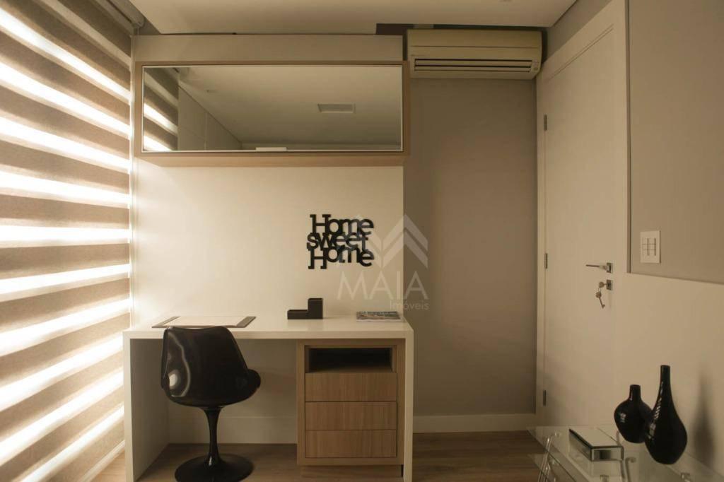 Apartamento 3 quartos sendo 1 suite no Centro, Campo Largo.