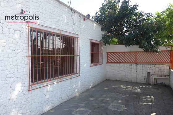 Casa residencial à venda, Cerâmica, São Caetano do Sul.