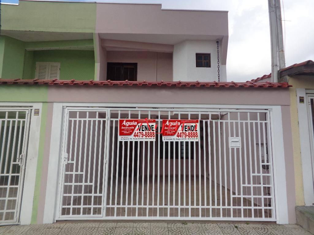 Sobrado residencial à venda, Parque Novo Oratório, Santo André.