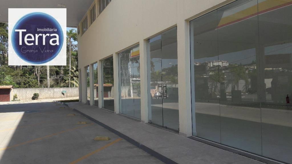Sala comercial para locação, Jardim Torino, Granja Viana.