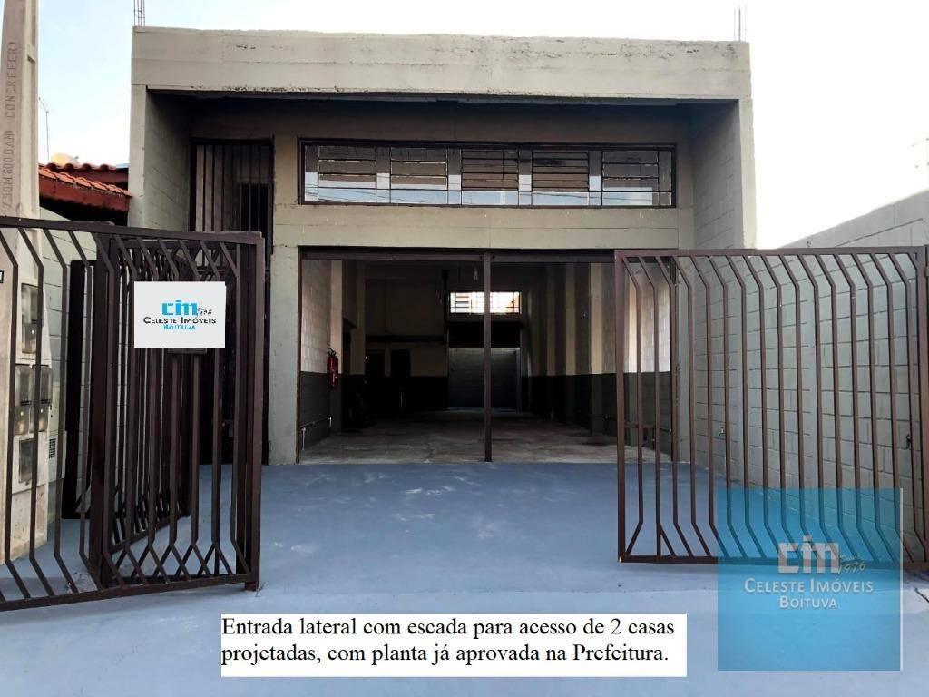 Galpão à venda, 260 m² - Residencial Faculdade - Boituva/SP