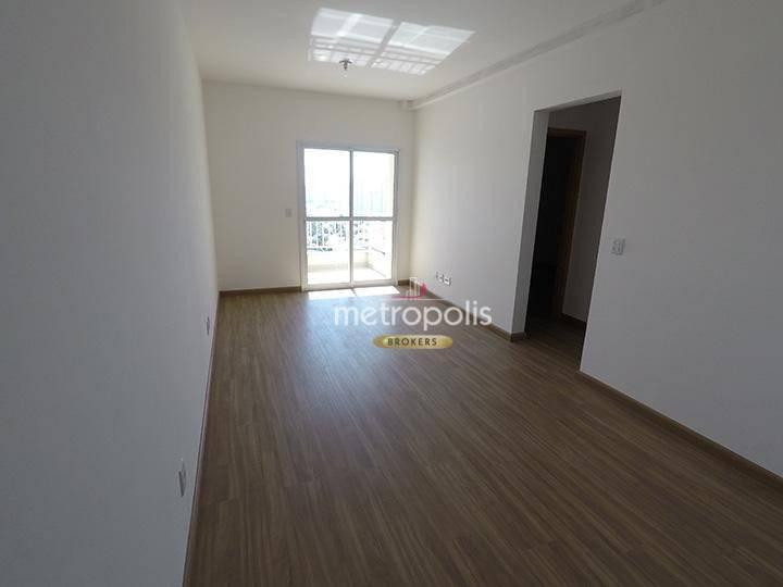 Apartamento com 2 dormitórios para alugar, 64 m² por R$ 1.500/mês - Campestre - Santo André/SP