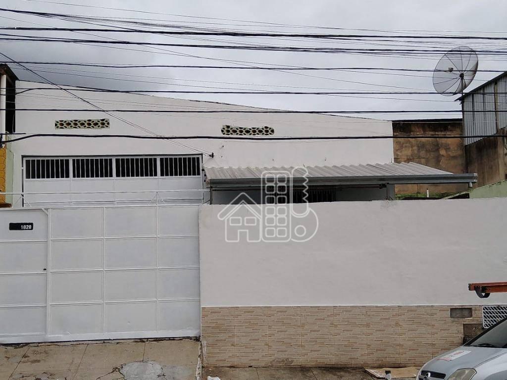 Galpão para alugar, 301 m² por R$ 5.152,00/mês - Paraíso - São Gonçalo/RJ