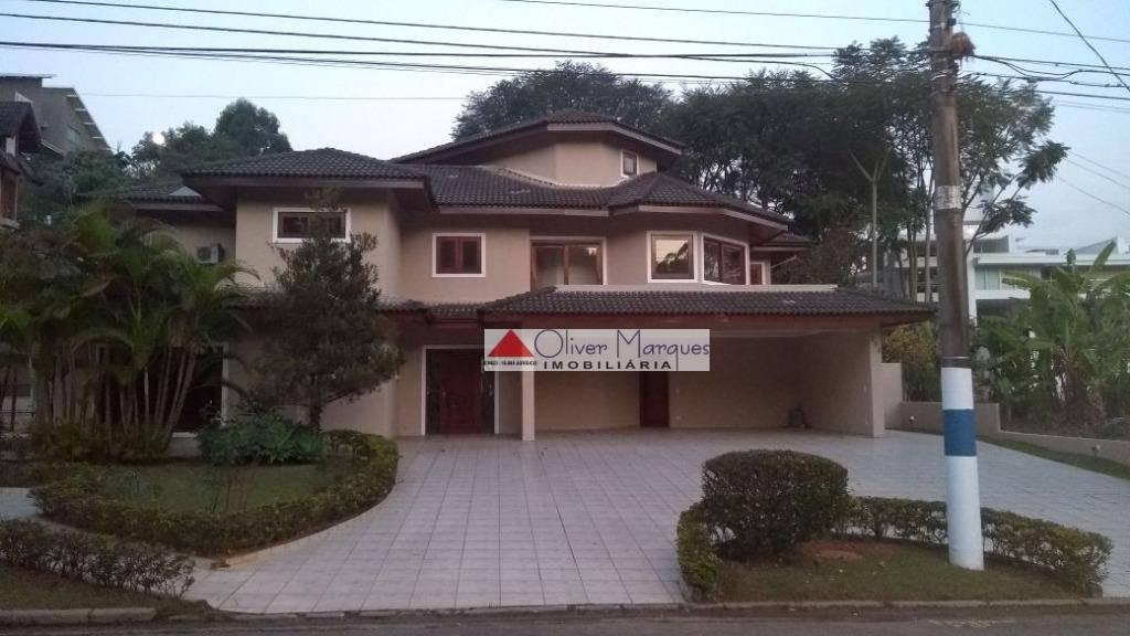 Sobrado residencial à venda, Residencial Tamboré, Barueri.