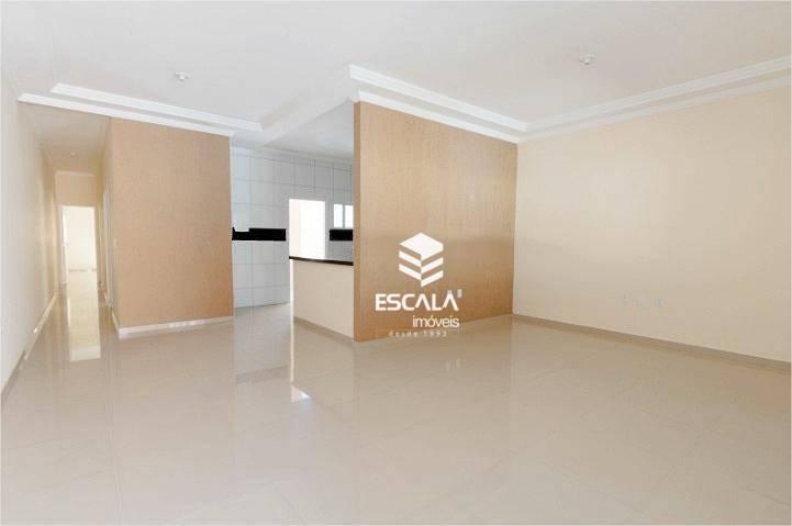 Casa com 3 quartos à venda, 130 m², nova, 2 vagas, financia - Sapiranga - Fortaleza/CE