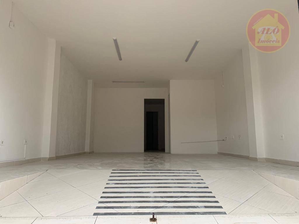 Loja para alugar, 63 m² por R$ 2.700/mês - Vila Guilhermina - Praia Grande/SP