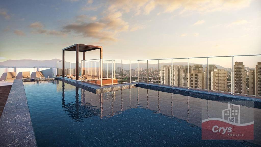Apartamento com 2 dormitórios à venda, 69 m² por R$ 729.000 - Vila Anglo Brasileira - São Paulo/SP