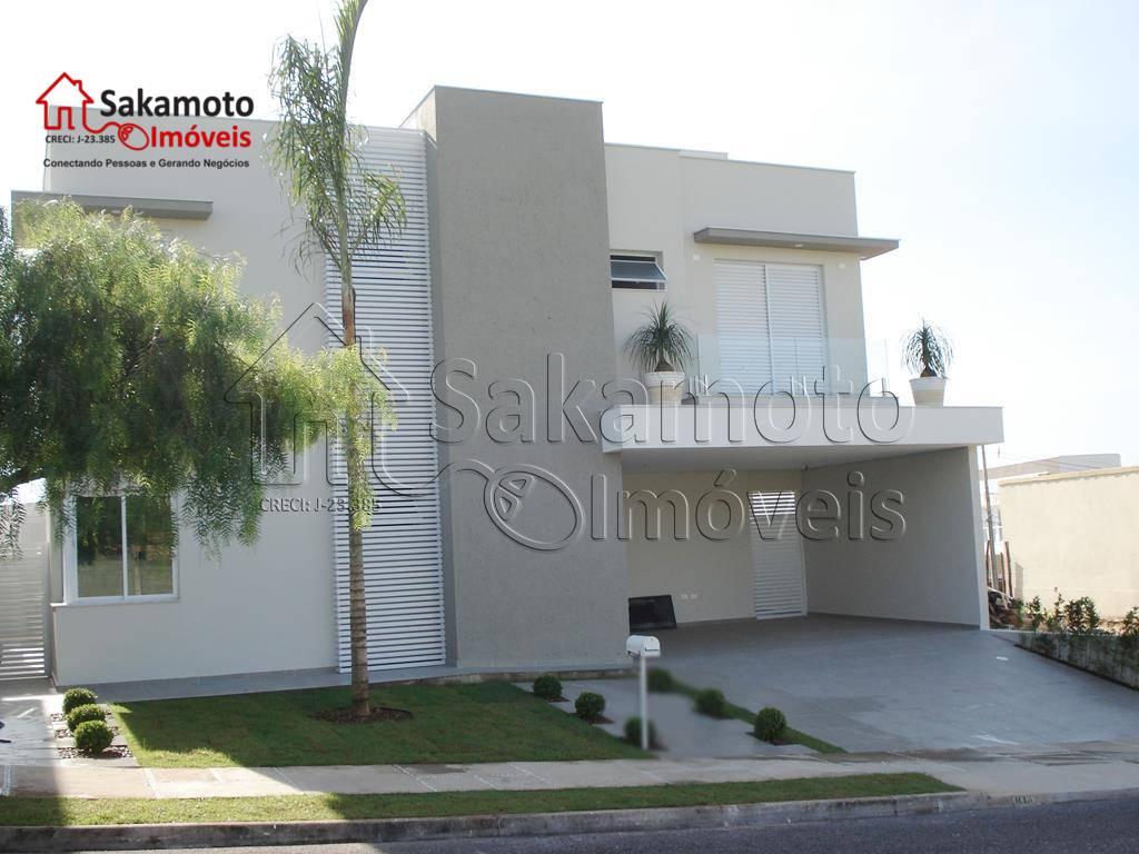 Sobrado residencial à venda, Condomínio Parque Esplanada, Votorantim.