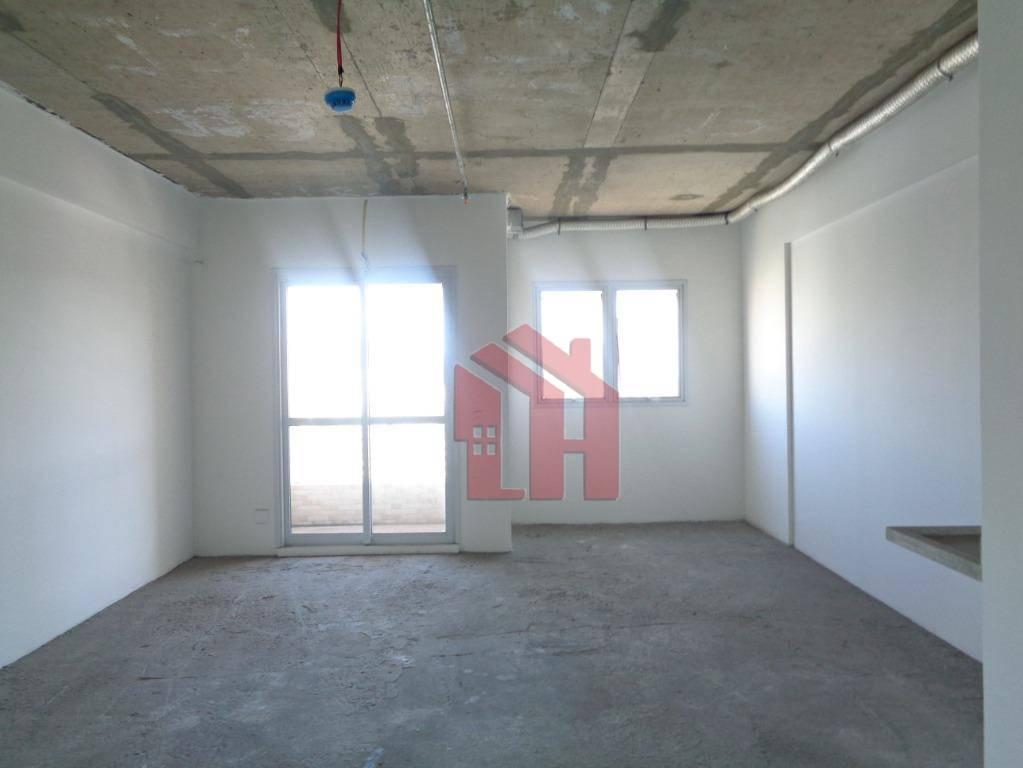 Sala para alugar, 42 m² por R$ 800/mês - Encruzilhada - Santos/SP