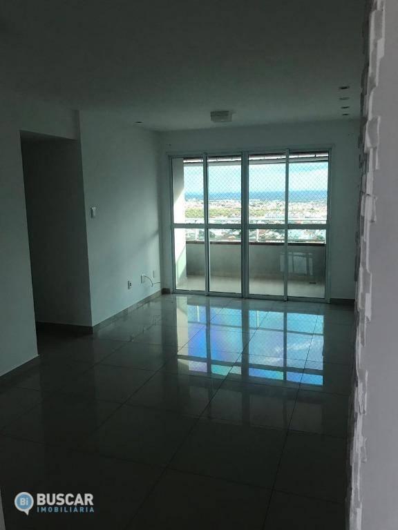 Apartamento com 3 dormitórios para alugar, 80 m² por R$ 2.500/mês - Brasília - Feira de Santana/BA