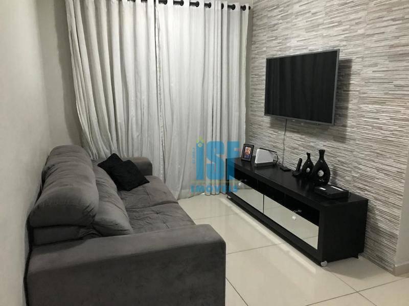 Apartamento com 2 dormitórios à venda, 61 m² por R$ 350.000 - Jardim Tupanci - Barueri/SP - AP24823.