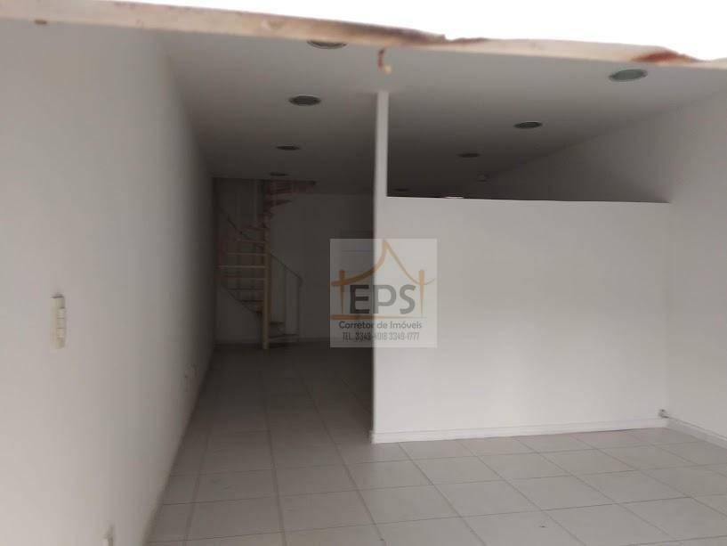 sala comercial com 44 m²