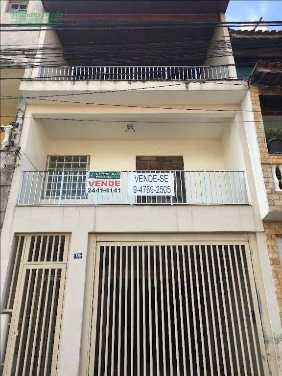 Sobrado residencial à venda, Parque Continental II, Guarulhos.