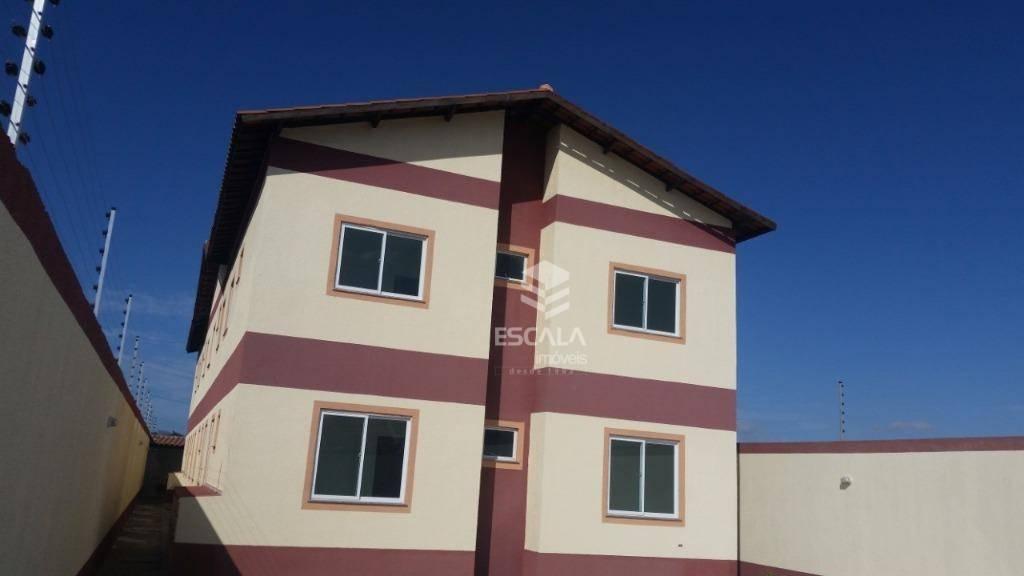 Apartamento com 2 dormitórios à venda, 59 m² por R$ 129.000,00 - Parque Guadalajara - Caucaia/CE