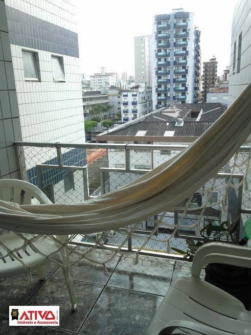 Apartamento à venda, 82 m² por R$ 300.000,00 - Canto do Forte - Praia Grande/SP