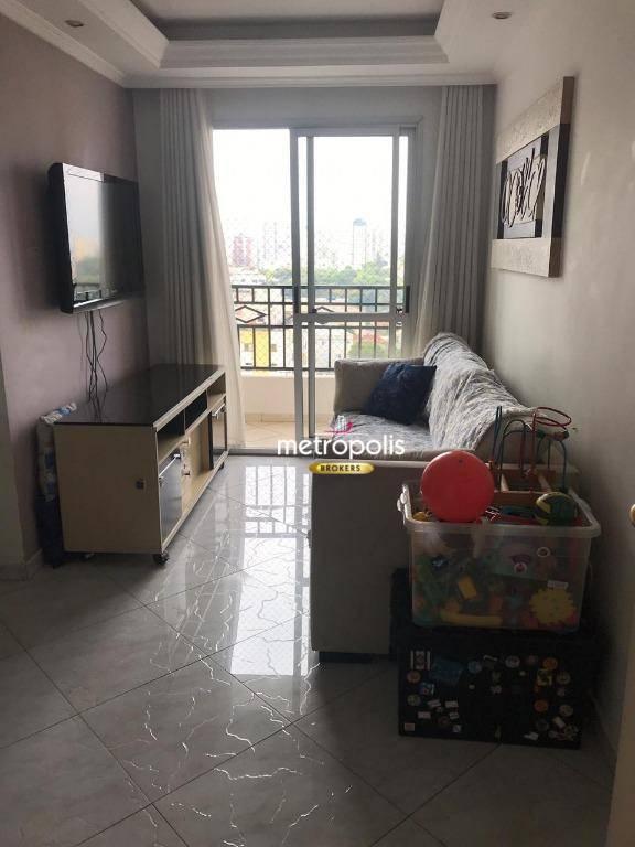 Apartamento com 2 dormitórios à venda, 56 m² por R$ 300.000 - Vila Valparaíso - Santo André/SP