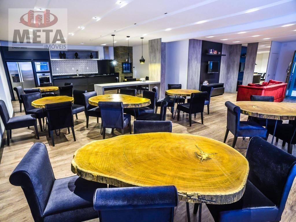 Apartamento com 3 Dormitórios à venda, 106 m² por R$ 420.000,00