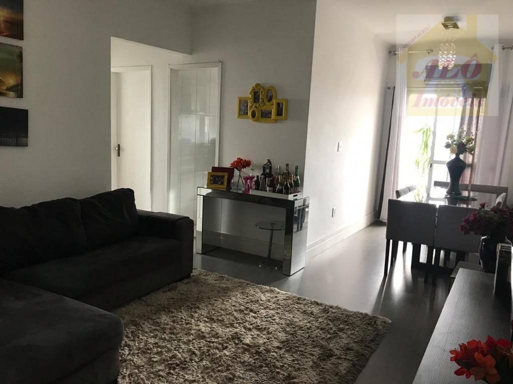 Apartamento com 2 dormitórios à venda, 55 m² por R$ 285.000 - Vila Guilhermina - Praia Grande/SP