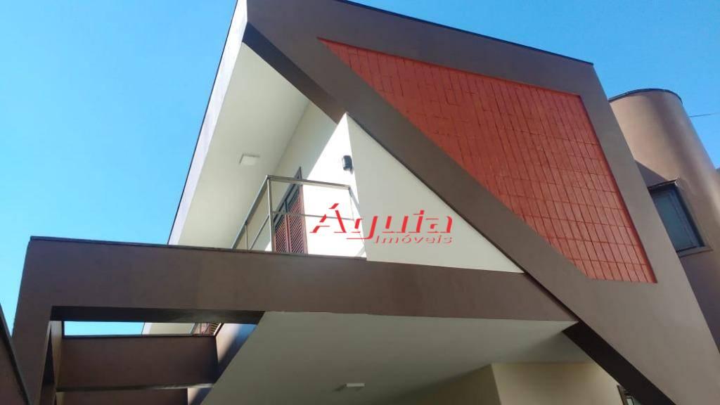 Sobrado residencial à venda, Parque das Nações, Santo André - CA0403.