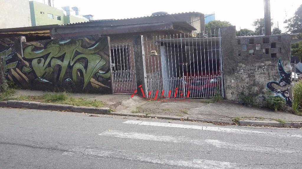Terreno residencial à venda, Jardim das Maravilhas, Santo André.