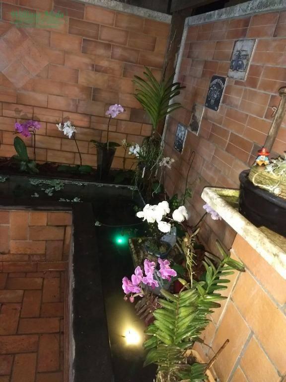 Sobrado residencial para locação, Parque Renato Maia, Guarul