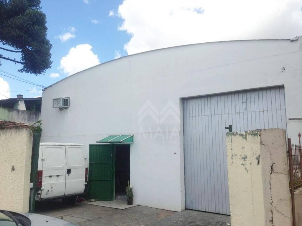 Barracão comercial à venda, Novo Mundo, Curitiba.
