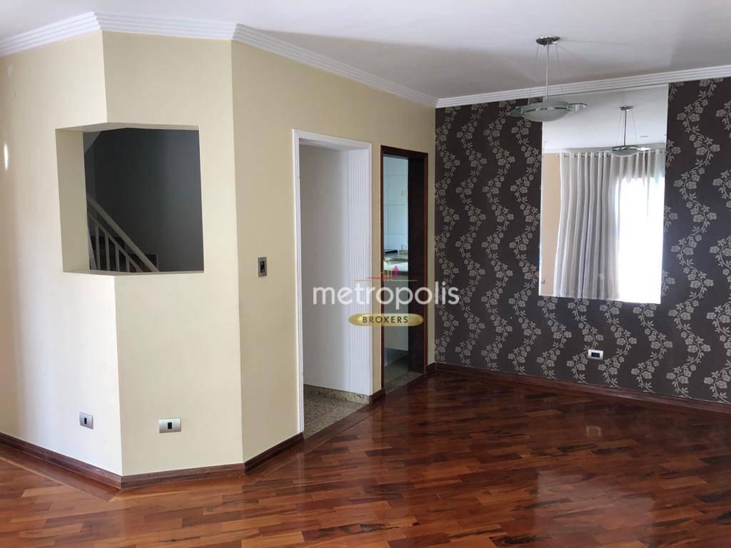 Sobrado com 3 dormitórios à venda, 162 m² por R$ 660.000,00 - Campestre - Santo André/SP