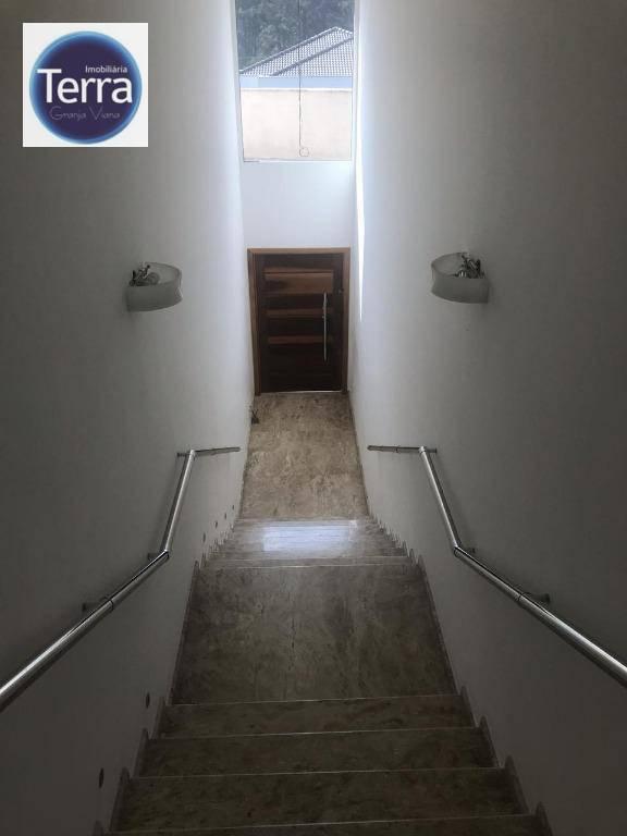 Casa com 3 dormitórios à venda, 450 m² por R$ 1.650.000 - Reserva Santa Maria - Granja Viana