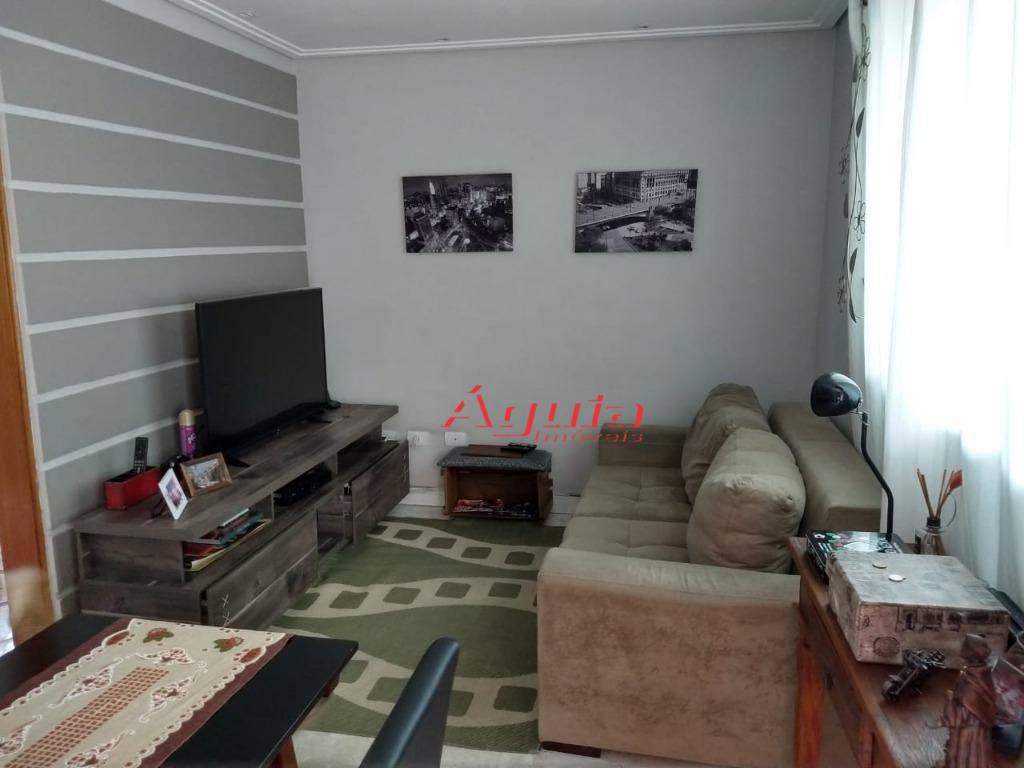 Sobrado com 2 dormitórios à venda, 59 m² por R$ 405.000 - Vila Curuçá - Santo André/SP