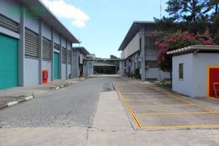 Galpão industrial para locação, Vila São Leopoldo, São Bernardo do Campo.