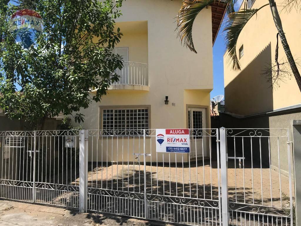 Casa com 3 suítes para locação em Atibaia-SP