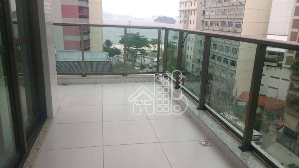 Loft com 1 dormitório à venda, 53 m² por R$ 750.000 - Icaraí - Niterói/RJ
