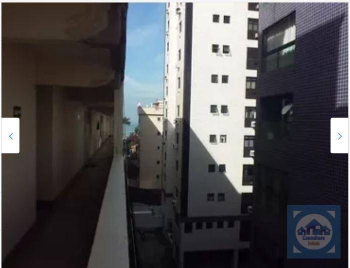 Kitnet com 1 dormitório à venda, 34 m² por R$ 201.000 - Ponta da Praia - Santos/SP