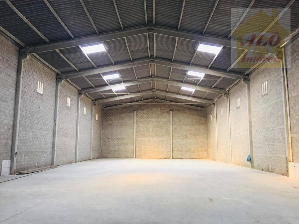 Galpão para alugar, 750 m² por R$ 14.000/mês - Boqueirão - Praia Grande/SP
