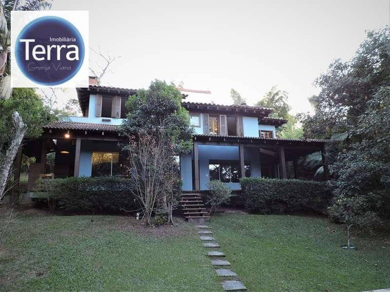 Casa residencial para venda e locação, Fazendinha, Granja Viana.