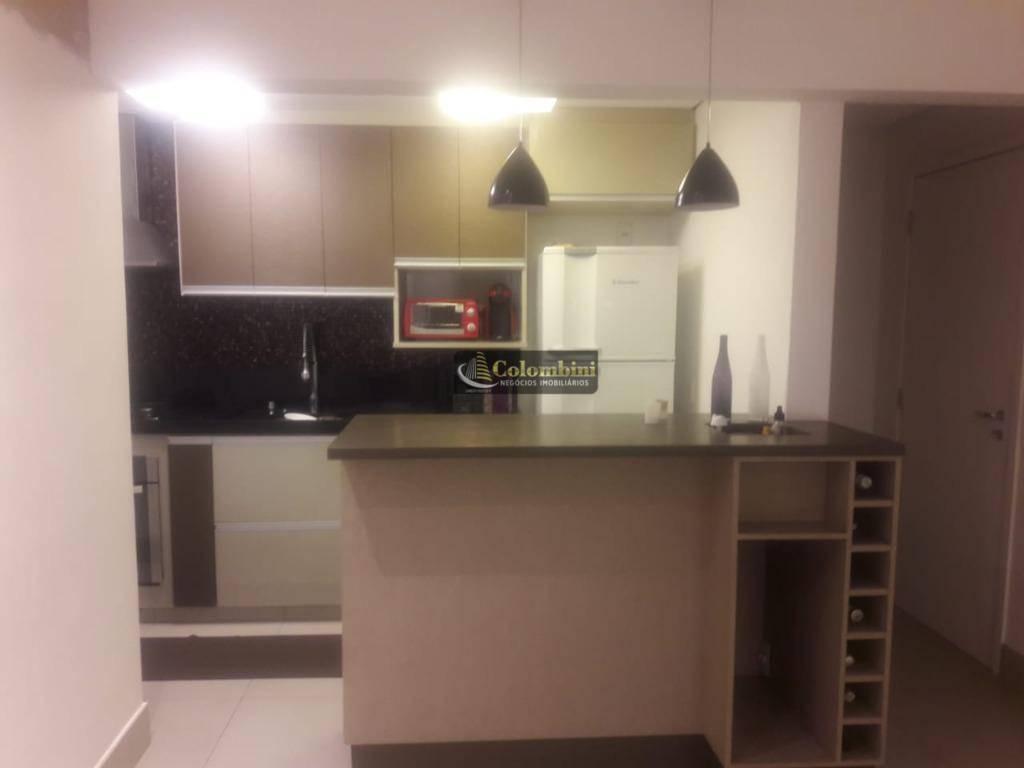 Apartamento com 2 dormitórios à venda, 79 m² - Campestre - Santo André/SP