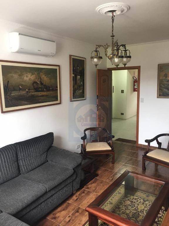 Apartamento com 3 dormitórios à venda, 110 m² por R$ 313.000 - Itararé - São Vicente/SP
