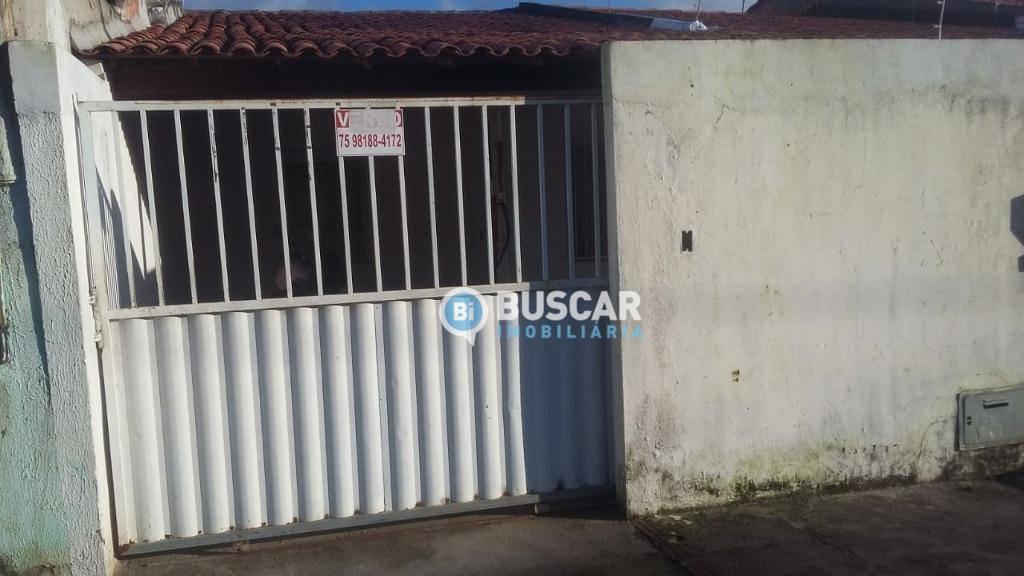 Casa com 2 dormitórios à venda, 56 m² por R$ 110.000 - Conceição - Feira de Santana/BA