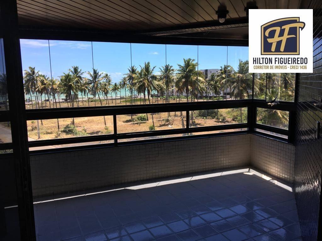 Apartamento com 4 dormitórios para alugar, 240 m² por R$ 3.700,00/mês - Intermares - Cabedelo/PB