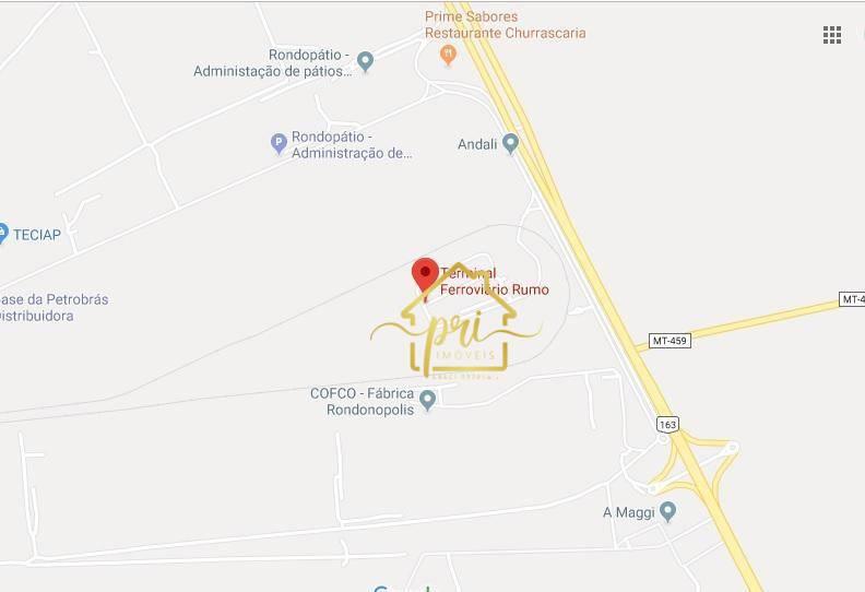 Área à venda, 12600000 m² por R$ 120.000.000,00 - Centro - Rondonópolis/MT