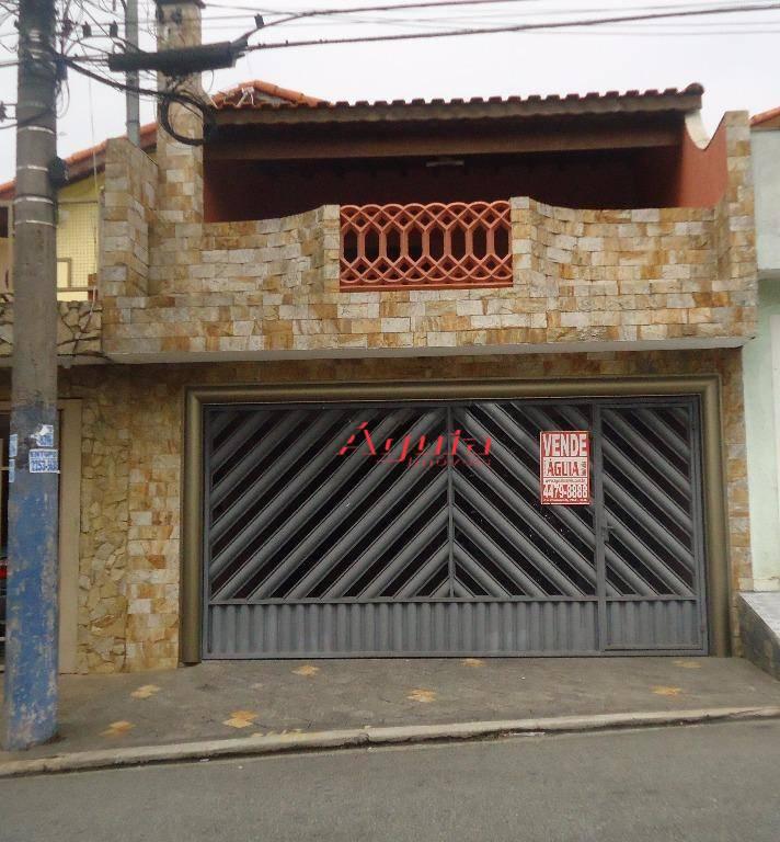 Sobrado residencial à venda, Jardim Itapoan, Santo André - SO0274.