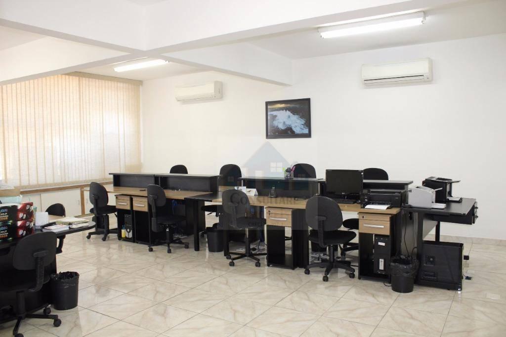 Sala à venda, 120 m² por R$ 490.000 - Centro - Santos/SP