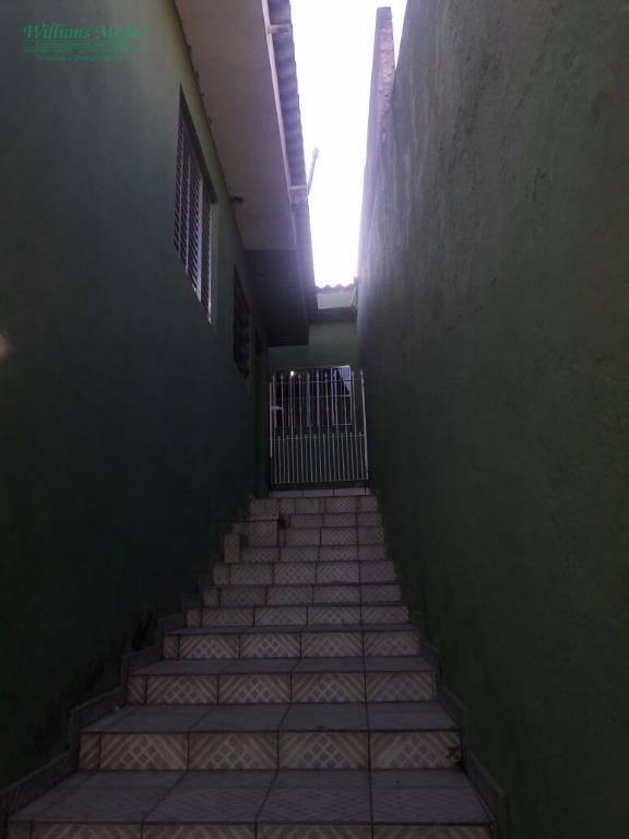 Sobrado residencial para locação, Jardim Paraíso, Guarulhos.