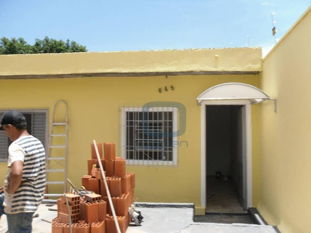 Casa com 3 dormitórios para alugar, 100 m² por R$ 1.300/mês - Jardim do Trevo - Campinas/SP