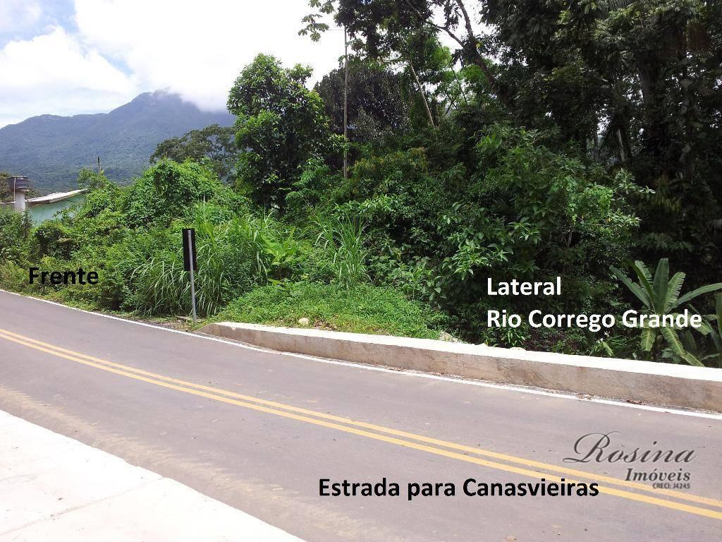Òtimo terreno medindo 4.500 m² localizada na Colonia das Canavieiras-Rio Sagrado em Morretes/Pr