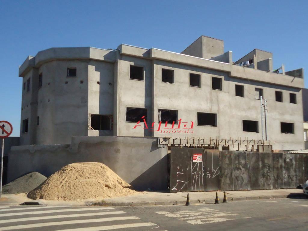 Sobrado com 3 dormitórios à venda, 112 m² por R$ 470.000 - Vila Curuçá - Santo André/SP