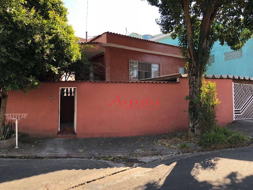 Casa residencial à venda, Jardim Itapoan, Santo André.