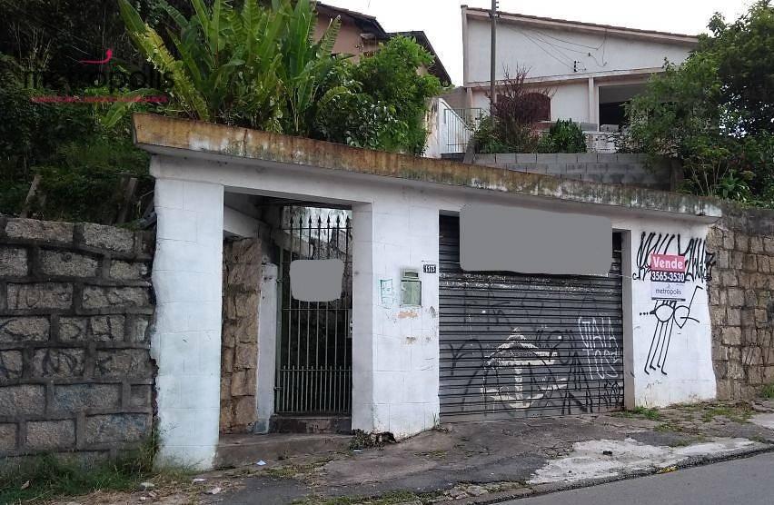 Casa residencial à venda, Campestre, Santo André - CA0116.
