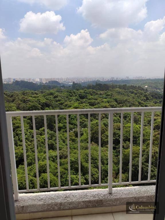 Apartamento com 2 dormitórios à venda, 46 m² - Jardim Campanário - Diadema/SP