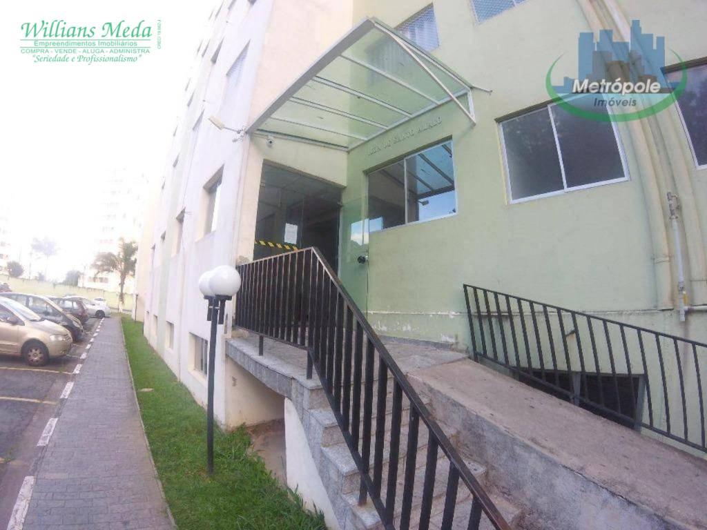 Apartamento locação, 2 dormitórios, 1 vaga , Picanco, Guarul